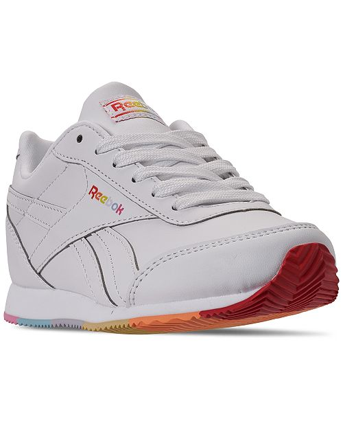 Reebok Little Girls Royal Classic Jogger 2 Platform Stay-Put Closure Casual Sneakers from Finish Line