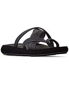Women's Cali Relaxed Fit Asana Blossom Beauty Athletic Sandals from Finish Line