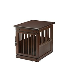 Wooden End Table Crate - Small