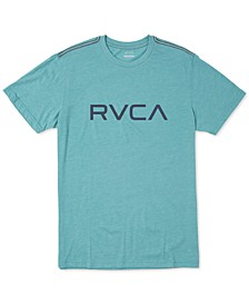Men's Big RVCA Logo Graphic T-Shirt