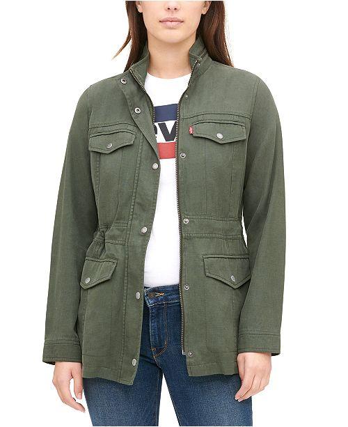 Levi's Mock-Neck Utility Jacket