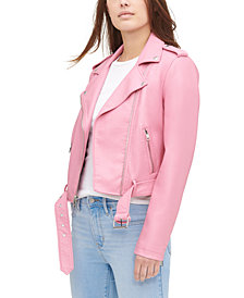 Levi's® Women's Faux-Leather Moto Jacket