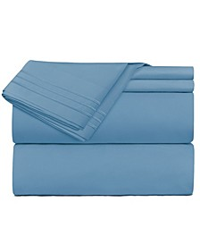 Premier 1800 Series 3 Piece Deep Pocket Bed Sheet Set, Twin XL