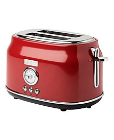 Dorset 2 Slice Stainless Steel Toaster
