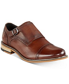 Men's Gary Single Monk-Strap Shoes, Created for Macy's