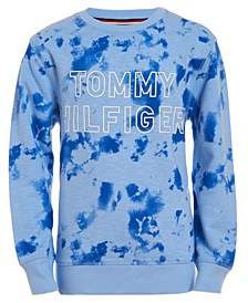 Little Boys Josh Tie-Dye Logo-Print Sweatshirt