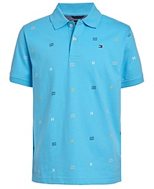 Toddler Boys Tommy Print Polo Shirt