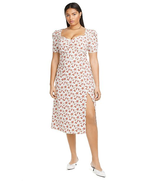 Danielle Bernstein Plus Size Slip Maxi Dress, Created for Macy's