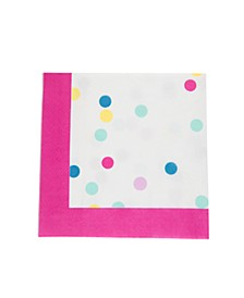 Lunch Napkin Confetti - 32 Pack