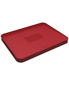 Cut & Carve Plus Multi-Function Large Chopping Board, Red