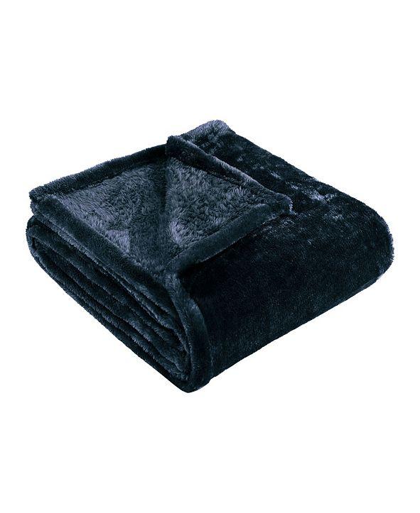 Superior Wrinkle Resistant Plush Fleece Blanket, King