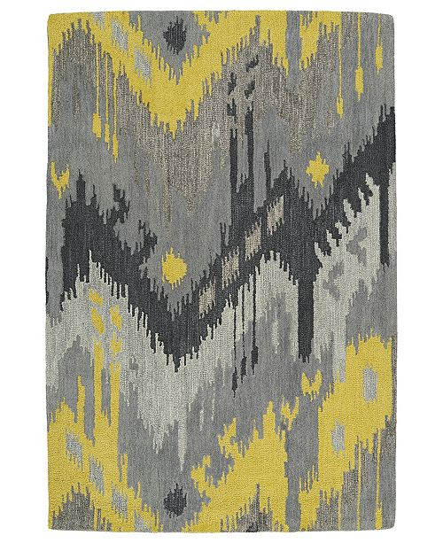 "Kaleen Casual 5054-75 Gray 7'6"" x 9' Area Rug"
