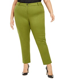 Plus Size Miranda Straight-Leg Pants