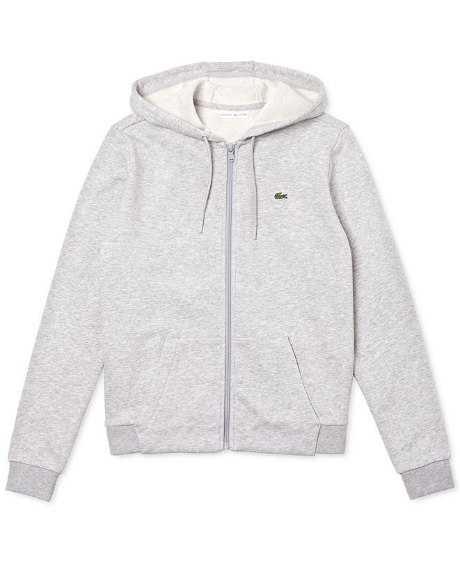 Lacoste Sport Full-Zip Fleece Hoodie