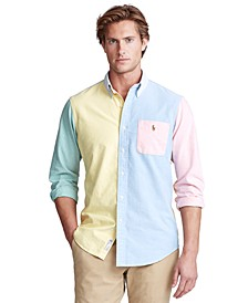 Men's Classic-Fit Oxford Fun Shirt