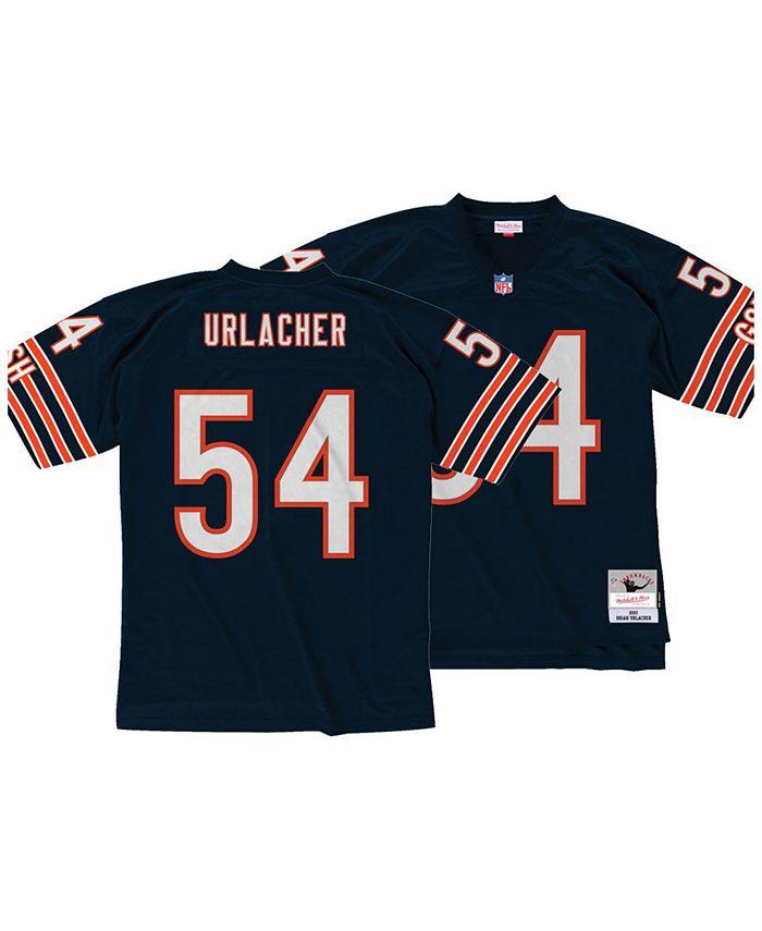 Men's Brian Urlacher Chicago Bears Replica Throwback Jersey