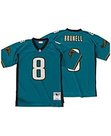Men's Mark Brunell Jacksonville Jaguars Replica Throwback Jersey