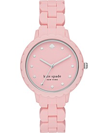 Women's Morningside Pink Silicone Strap Watch 38mm
