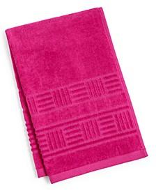 """CLOSEOUT! Basket Weave Cotton 16"""" x 26"""" Hand Towel"""
