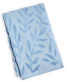 "CLOSEOUT! Trailing Flowers Cotton 16"" x 26"" Hand Towel"