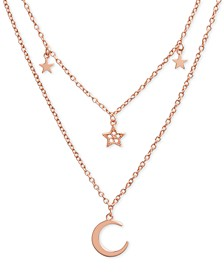 "Celestial Charm 16"" Two-Row Pendant Necklace"