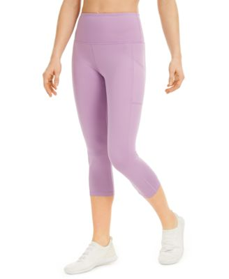 High-Rise Cropped Leggings, Created For Macy's