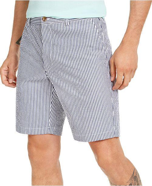 Club Room Men's Seersucker Shorts, Created for Macy's
