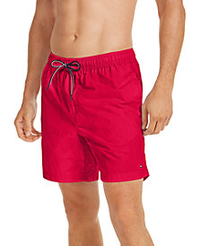 Tommy Hilfiger Men's Solid Swim Trunks