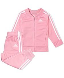 Baby Girls 2-Pc. Tricot Jacket & Jogger Pants Set