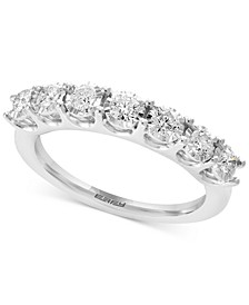 EFFY® Diamond Anniversary Band (1/2 ct. t.w.) in 14k White Gold