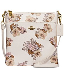 Floral Bouquet Print Kitt Crossbody