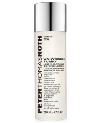 Un-Wrinkle Turbo Line Smoothing Toning Lotion