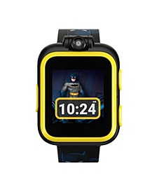 Kids PlayZoom DC Comics Yellow Batman Strap Touchscreen Smart Watch 42x52mm