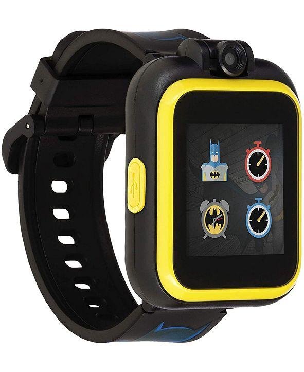 iTouch Kids PlayZoom DC Comics Yellow Batman Strap Touchscreen Smart Watch 42x52mm
