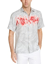 Men's Hibiscus Row Graphic Shirt