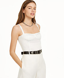 Danielle Bernstein Cropped Tank Top, Created for Macy's