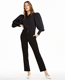 Puff Sleeve Bodysuit, Created for Macy's