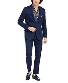Downing Slim-Fit Windowpane Jacket & Dress Pants