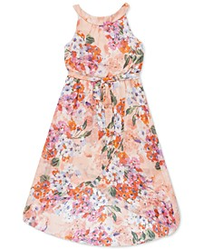 Little Girls Floral High-Low Maxi Dress, Created for Macy's
