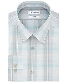 Calvin Klein Men's Slim-Fit Multi-Plaid Dress Shirt