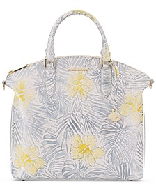 Lemonade Honeybee Large Duxbury Satchel