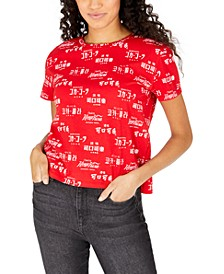 Juniors' Coca-Cola Printed Graphic T-Shirt
