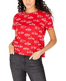 Juniors' Coca-Cola Printed Graphic T-Shirt