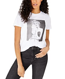 Juniors' Marilyn Monroe Graphic T-Shirt