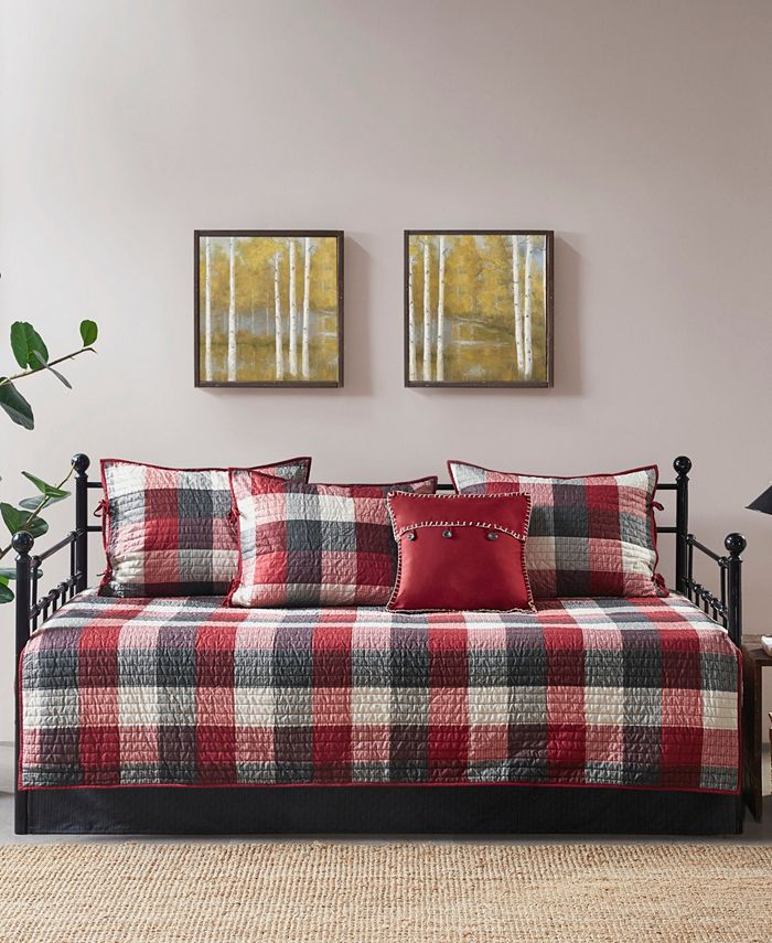 Madison Park - Ridge 6 Piece Daybed Reversible Daybed Cover Set