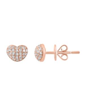 Diamond (1/4 ct. t.w.) Earring in 14K Rose Gold
