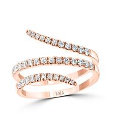 Diamond (1/2 ct. t.w.) Ring in 14K Rose Gold