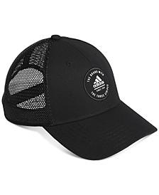 Men's Badge Logo Trucker Hat