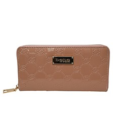 Dana Embossed Patent Wallet