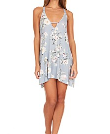 Lucca Printed Knit Chemise Nightgown